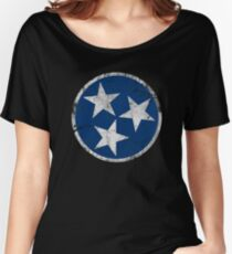 Vintage State Flag of Tennessee Women's Relaxed Fit T-Shirt