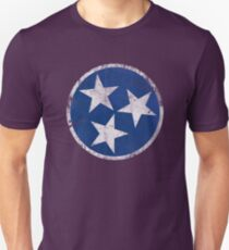 Vintage State Flag of Tennessee Unisex T-Shirt
