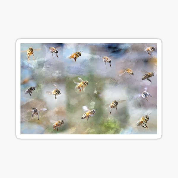 My Lovely Bees Sticker