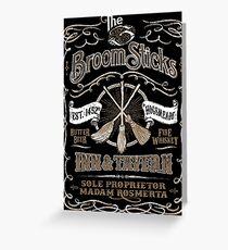 The Three Broomsticks Inn & Tavern Greeting Card