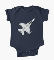 F16 Fighter Aircraft One Piece - Short Sleeve