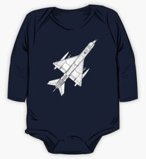 Fighter Aircraft MIG 21 One Piece - Long Sleeve