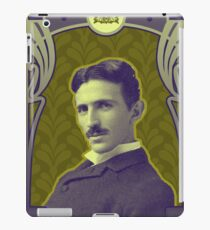 Nikola Tesla's Electric Mind iPad Case/Skin