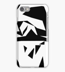 """""""Cutting Edge"""" Abstract Knee Replacement Design by Jenny Meehan  iPhone Case/Skin"""