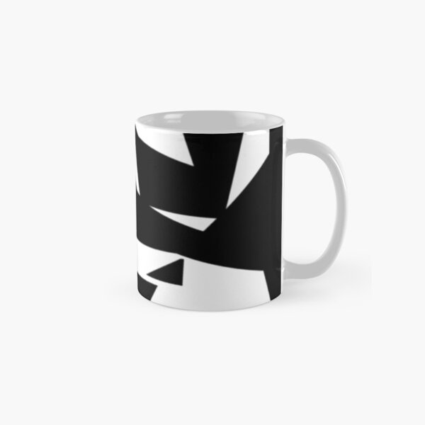 """""""Cutting Edge"""" Abstract Knee Replacement Design by Jenny Meehan  Classic Mug"""