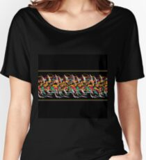 Abstract barbwire  Women's Relaxed Fit T-Shirt