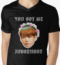 Jungshook Men's V-Neck T-Shirt