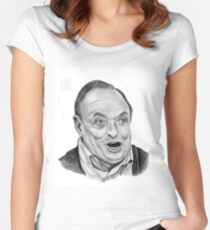 James Bolam plays Grandpa in my pocket Women's Fitted Scoop T-Shirt