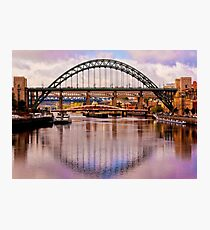 Newcastle Bridges Photographic Print