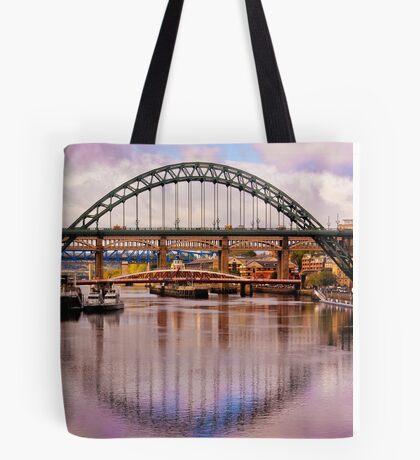 Newcastle Bridges Tote Bag