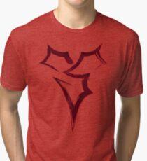 Zanarkand Abes Symbol - Blood Edition Tri-blend T-Shirt