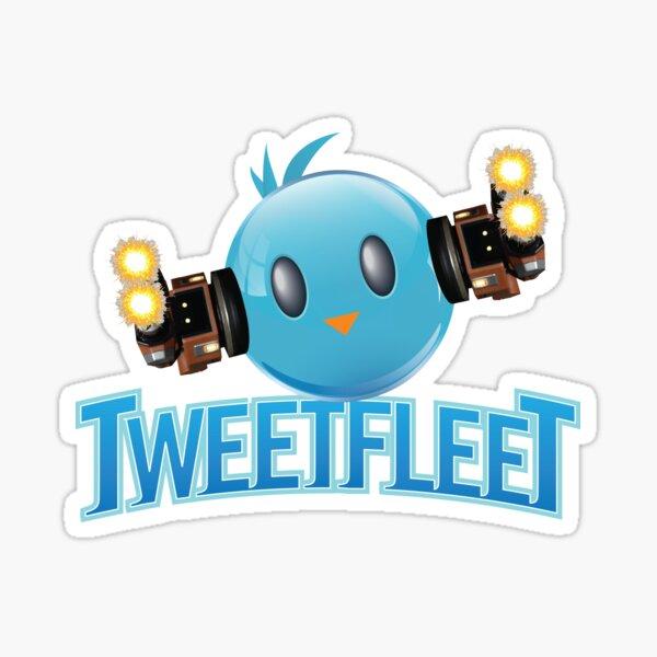 Tweetfleet-Symbol Sticker