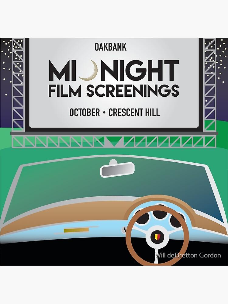 Oakbank Film Night by PostArt