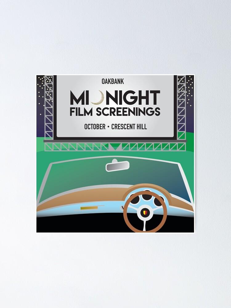 Alternate view of Oakbank Film Night Poster