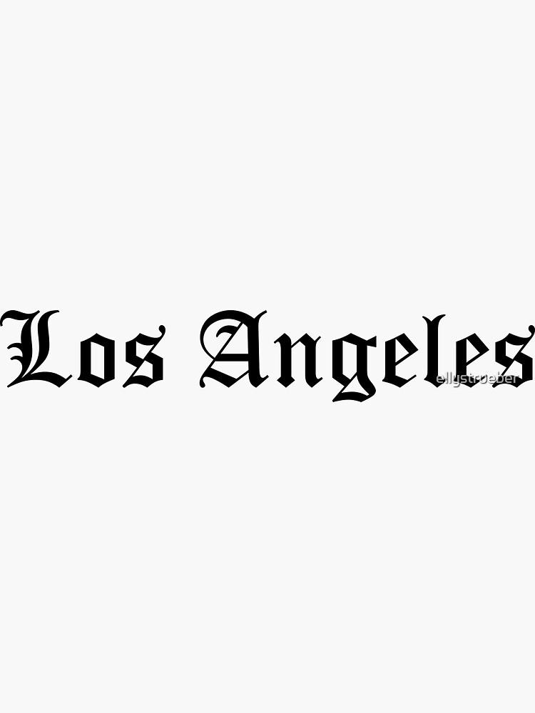 los Angeles de ellystrueber