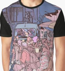 Pastel Town Graphic T-Shirt