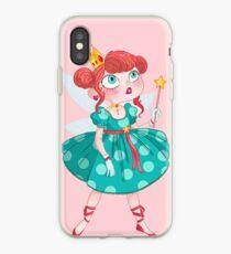 La petite fée des cupcakes iPhone Case