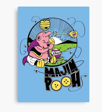 Majin Pooh Canvas Print