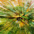 Abstract Leaves 2 by Rebecca Cozart