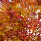 Abstract Leaves 4 by Rebecca Cozart