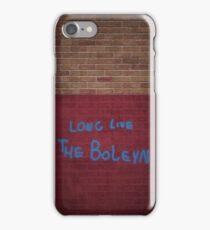 Long Live the Boleyn Wall Piece iPhone Case/Skin