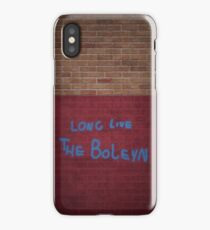 Long Live the Boleyn Wall Piece iPhone Case