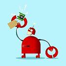 Robot Present by precociousmouse