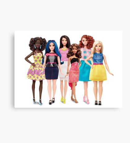 Real Dolls Canvas Print