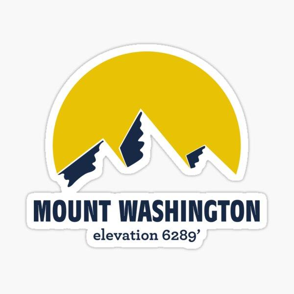 Mount Washington Sticker