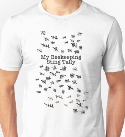My Beekeeping Sting Tally T-Shirt
