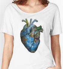 Corazón Errante Camiseta ancha para mujer