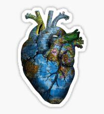 Corazón Errante Pegatina