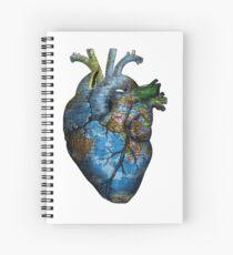 Corazón Errante Cuaderno de espiral