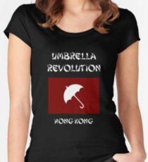 Umbrella Revolution -- Hong Kong Women's Fitted Scoop T-Shirt