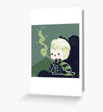 Brat Wizard Greeting Card