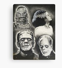 Classic Universal Monsters Canvas Print