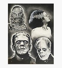 Classic Universal Monsters Photographic Print