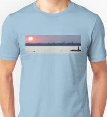 Sunset over the Venetian Lagoon Unisex T-Shirt