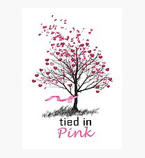 Tied in Pink Anthology merchandise Tee Shirts Photographic Print