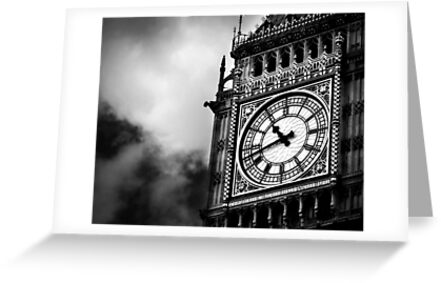 Big Ben [Print & iPad Case] by Didi Bingham