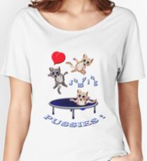 love jumping pussie's Women's Relaxed Fit T-Shirt