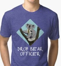 Drop Bears Preservation Society Tri-blend T-Shirt
