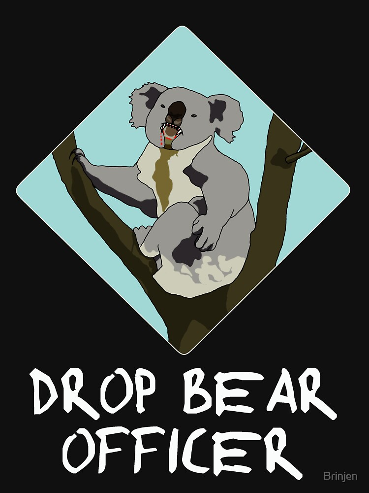 Drop Bears Preservation Society by Brinjen