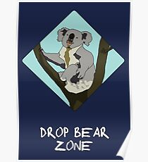 Drop Bears Preservation Society Poster