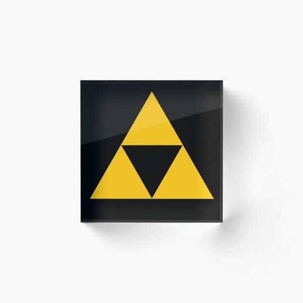 Triforce Acrylic Block