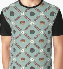 Morning Argyle Graphic T-Shirt