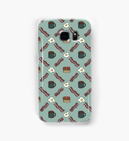 Morning Argyle Samsung Galaxy Case/Skin