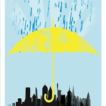 Yellow Umbrella by chancefan4