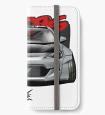 naquash design toyota gt86 subaru brz scion frs with wide body  iPhone Wallet/Case/Skin