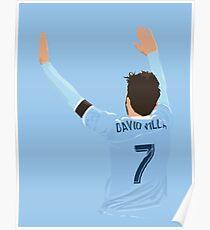 David Villa Poster